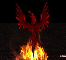 Phoenix Rising by richardredhawk