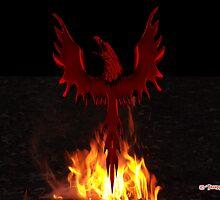 Phoenix Rising by richardredhawk