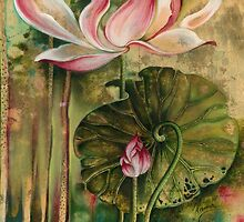 """""""Master and Follower"""" from the series """"In the Lotus Land"""" by Anna Miarczynska"""