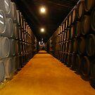 Barrels at Harveys Bristol Cream, Jerez - Spain by Rebecca Silverman