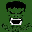 Hulk Smash! by appfoto