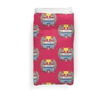 Chase for the Mushroom Cup Duvet Cover