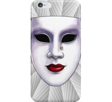 Masked Emotions Wall Art iPhone Case/Skin