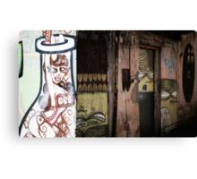 Melbourne Graffiti-Artist Deb Canvas Print