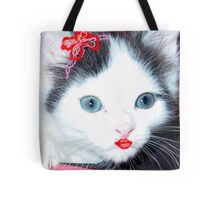 Glamour Kitty Tote Bag