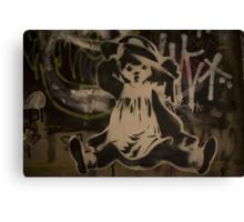 Fallen Girl - Artist SPARCS Canvas Print