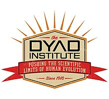 Dyad Institute Crest Photographic Print