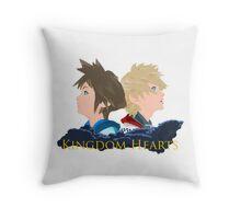 Sora & Roxas Back to Back Throw Pillow