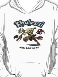 Khalessi - Gotta catch em' all - Game of Thrones Pokemon crossover T-Shirt