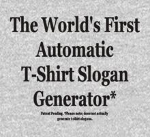 Automatic Slogan Generator by kissuquick