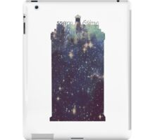 space and time travel iPad Case/Skin