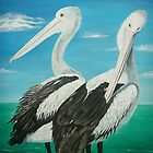 Pelicans by © Linda Callaghan