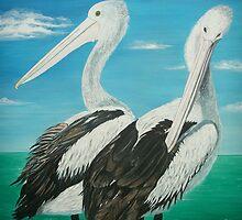Pelicans by © Linda Callaghan