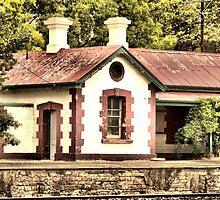 ~Nairne Railway Station~ by Debra LINKEVICS