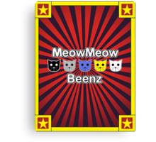 MeowMeow Beenz Canvas Print