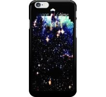 space and time travel iPhone Case/Skin