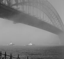 Harbour Bridge - Old Series - 2001 by David Petranker