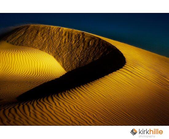 Kirk Hille › Portfolio › Golden Sand Dunes
