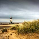 Point of Ayr lighthouse  by Jon Baxter