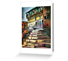 Steps to home Greeting Card