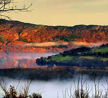 The clouds that snake across the lake by lochnesslife