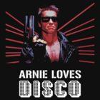 Arnold Schwarzenegger Loves Disco by Marcel Stawiczny
