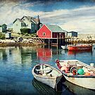 Peggy&#x27;s Cove, Nova Scotia by Amanda White