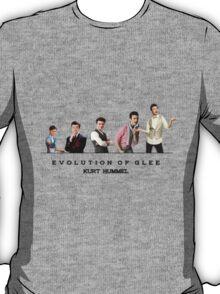 Evolution of Glee || Kurt T-Shirt