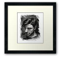 Self Portrait - 3/23/2015 Framed Print