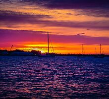 Sunrise Over The Severn River - Annapolis, MD by alanwoodyard
