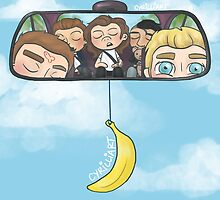 Rear View Mirror by cyrilliart