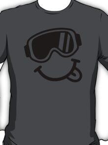 Ski smiley face T-Shirt