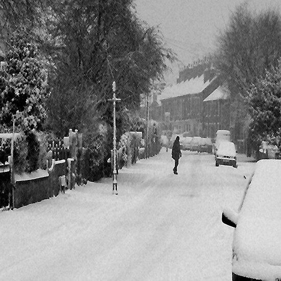 Snow scene by nick pautrat