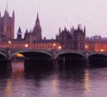 London Waters Sticker