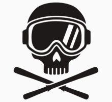 Skull crossed ski Kids Clothes
