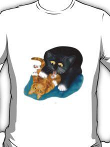 Bath Time for Tiger Kitten T-Shirt