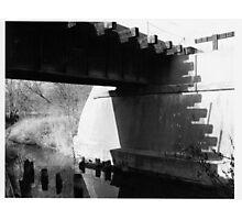 Shadow Tracks Photographic Print
