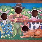 Farmer and his animals (Farm project) by Penny Lewin - Hetherington