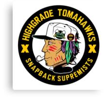 Highgrade Tomahawks Canvas Print