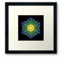 26 WISDOM ~ I am Intuition Framed Print