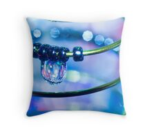 Water and Spring II Throw Pillow