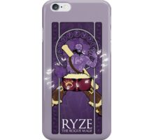 Ryze, the Rogue Mage iPhone Case/Skin