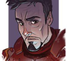 Tony Stark - Portrait  by MattHaworth