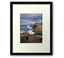 Waiting For The Tides To Change Framed Print