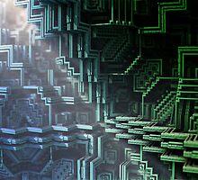 Escher Rays by Resonance  Threads