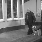 Candid Dog Walk by karenuk1969