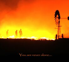 you are never alone by Phoenix-Appeal