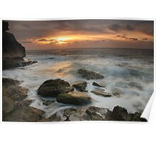Dawn over South Shore Poster