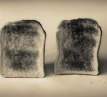 2 PIECES OF TOAST by mike taylor