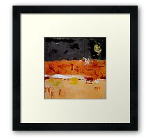 Somewhere Between Day And Night Framed Print